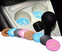 Auto Cup Antislip Pats Voertuig PU Lederen Waterfles Houder Antislip Pad Forsmart Dog Cup Mat