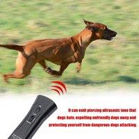 جهاز الموجات فوق الصوتية المضادة نباح وقف النباح تدريب الحيوانات الأليفة الكلب مبيد الحشرات مكافحة النباح مدرب