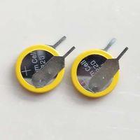 200pcs pro Los CR1220-VC Vertikale Halterung Trough Lochtyp CR1220 3V Lithium-Knopfzellen-Batterie Knopfzelle für PCB