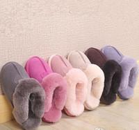 2021 Vendita calda Design classico 51250 Calda pantofole Capra Stivali da neve Martin Boots Short Donne Stivali Tenere le scarpe calde Spedizione gratuita