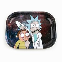 Rolling Tray 180*125*15mm Tobacco Metal Roll Trays Cartoon H...