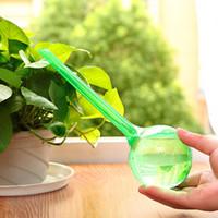 Sistema de riego por goteo herramienta de la flor de riego automático 26.5cm Planta de interior Tiesto bola de PVC goteo Jardín Waterer riego