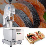 Coupe d'os de scie électrique commerciale Cutter Machine de viande congelée os de coupe Hacheuse