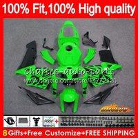 100٪ صالح للحصول على حقن HONDA CBR600F5 CBR600 RR CBR600RR الضوء الأخضر 05 06 80HC.186 CBR 600RR 600F5 600 RR F5 05 06 2005 2006 OEM Fairings لل