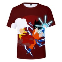 T-Shirt con stampa 3D DRAGON O Neck Casual T-shirt a maniche corte T-shirt Plus Size S-4XL