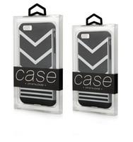 Confezione regalo vuota per telefono personalizzato con logo al dettaglio per iPhone X XR XS Pacchetto regalo trasparente in PVC bianco