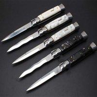 OEM Mafia 11 pulgadas Acrílico 5 modelos Acción única ITA Cuchillo Auto Cuchillo Camping Cuchillos de regalo para hombre
