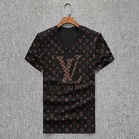 668 = New Arrival Men Desig Verão Camiseta Hip Hop manga curta Magro cobre T T-shirt Moda Medusa Man T-shirt Casual Boy Camiseta