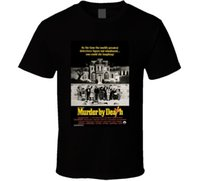 Assassiner par la mort Cool 70's Comedy Vintage Classique Affiche de Film Fan T Shirt 100% Coton Brand New T Shirts