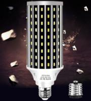 AC100-277V E27 50W 2835 Вентилятор охлаждения мозоли СИД Лампочка без крышку лампы для внутреннего LED Spotlight Домашнее украшение Droplight Street