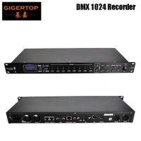 Gigertop TP-D1369 1024 DMX Recorder US / EU / AU-Stromkabel Mikrofonaufnahme, AV-Audio-Eingang, RJ45 oder RS232-Steuerung anschließen
