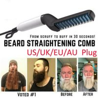 Quick Beard Straightener Multifunctional Hair Comb Curling Curler Show Cap Men's c Urling Iron