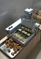 Ücretsiz Kargo Ticari Mini 4 Satır Donut Yapma Makinesi / Donut Yapma / Kızartma Donut Yapma / Donut Yapma Makinesi / Donut Yapma Makinesi