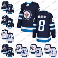 253d05b27 New Arrival. 2019 Winnipeg Jets 8 Jacob Trouba 37 Connor Hellebuyck 57  Tyler Myers 3 Tucker Poolman Hockey Jerseys Men Women Youth