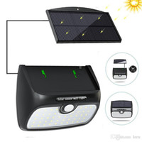 48 Solar LED-Lampe Garten-Bewegungs-Sensor-Licht Sonnenkollektor-Energien-Leuchten im Freien wasserdicht Separate Straße Pfad-Sicherheitswandleuchte