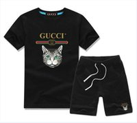 2019 Brand Kids Sets Children T- shirts And Shorts Pants Kids...