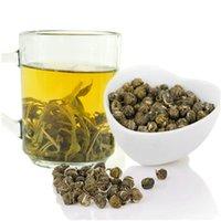 vendite calde di sanità del fiore del gelsomino del tè primo piano della perla del gelsomino tè profumato 100g Cina Costo-efficacia del tè verde