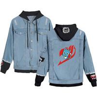 Chaquetas vaqueras Hombre Vaquero Slim Fit Bomber Sweater Chaqueta con capucha para hombre Hip Hop Print Abrigos Talla XS-4XL