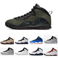 Desert Camo 10s Mens Basketball Shoes Woodland Orland Cement...