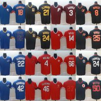 Mens Jersey Barro Barry Bonds Roberto Clemente Darryl Strawberry Bryce Harper Mookie Betts Yadier Molina Paul Goldschmidt Christian Yelich