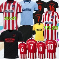 20- 21 New #7 JOÃO FÉLIX Soccer Jerseys 19- 20 Men Kids Atleti...