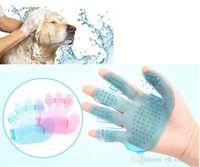 Повышение! Правая рука Пэт волос перчатки гребень собака кошка уход щетка для очистки удаления волос кисти способствуют циркуляции крови