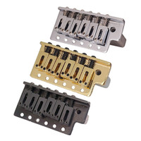 Un insieme di mancini chitarra elettrica Ponte Scopare singolo ponticello del Tremolo di sistema ispessite Base Accessori per Chitarra parti di chitarra