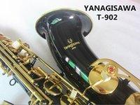 New Yanagisawa T-902 تينور ساكس ماركة تينور ساكسفون الآلات الموسيقية BB لهجة الذهب الأسود مفتاح النحاس أنبوب الذهب مفتاح ساكس مع حالة لسان حال