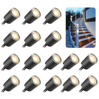 Recessed LED Deck Light Kits, Outdoor LED Landscape Lighting ...