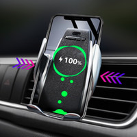 fd1cd063a4445 Wholesale wireless charger car mount for sale - Group buy 2pcs Automatic  Wireless Car Charger For