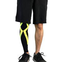 Дышащие Длинные рукава Колено Compression Чулки Футбол Волейбол Бег Колено Поддержка Спортивные Защитные колодки
