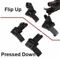 Tactical Backup Anteriore Posteriore vibrazione di 45 gradi Offset rapida transizione vista del ferro Monte Standard Profile 2 PCS nuovo