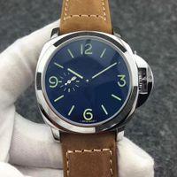 Top AAA+ Fashion Designer Luxury Watch Leather Belt Brown Black Men's Watch Waterproof Automatic Mechanical Movement Men Mens watches Montre de luxe