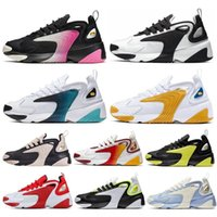 2020 Zoom M2K Homens Running Shoes Mulheres Tainers 2K Tekno 2000 Designer Triplo Preto Branco Cinza Escuro Sports Sapatilhas