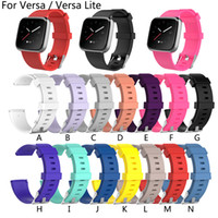 New Arrival For Fitbit Versa Lite Wristband Wrist Strap Smar...