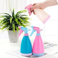 플라스틱 손의 압력 정원 작은 식물 꽃 물을 냄비 VT0887를 들어 스프레이 병 조절 급수 캔 미용 물 뿌리개