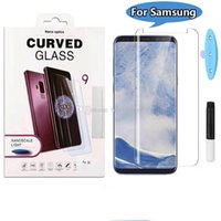 For Samsung S8 S9plus note9 s7edge 3d Curved Full Glue Case ...
