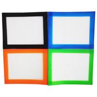 102x127mmFDA Approvato Piccolo tappetino in silicone Slick Slick Piccola tappetino in silicone Slick Slick Skin con silicone e costruzione in fibra di vetro