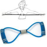 8 رالي رالي كلمة الصدر التوسع اليوغا سحب حبل للياقة البدنية رالي لون عشوائي