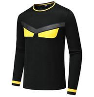 2019 новый осенний модный бренд повседневная свитер О-образным вырезом прохладный Волк полосатый Slim Fit вязание Мужские свитера и пуловеры мужчины пуловер мужчины D16