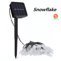 New Explosion Solar Light String 30LED Outdoor Creative Snow...
