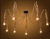 Plafoniere Led Vintage : Acquista  vintage edison bulbs spider lampada a