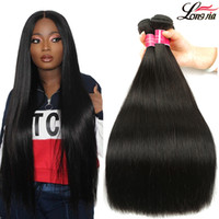 8A Brazilian Straight Hair 100% Brazilian Virgin Straight Hu...