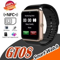 GT08 Smartwatch With SIM Card Slot Android Smart Watch for Samsung and IOS Apple iphone Smartphone Bracelet Bluetooth Watches