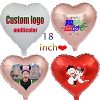 Customized color logo advertisement printed foil balloon 18 ...