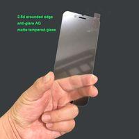 AG AG antideslumbrante mate de vidrio templado esmerilado protector de pantalla para iPhone 11 XS MAX Xr La huella digital anti protectores de pantalla del teléfono celular