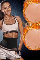2020 Fitness Vita Trimmer Forma ventre Cintura di serraggio Weightloss dimagrante guaina del corsetto della vita Trainer corpo Shaper pancia dimagrante FY8053