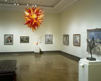 Camera Chihuly Art Glass chandelier mano Catena leggera soffiato lampada a sospensione per Museo Chiesa Decor