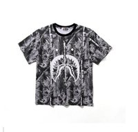 Camouflage Print Casual Loose Short Summer Leaves Man Casual...