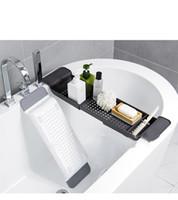 Desagüe de bañera de plástico retráctil WC Bañera Bañera rack estantes de almacenamiento de muebles